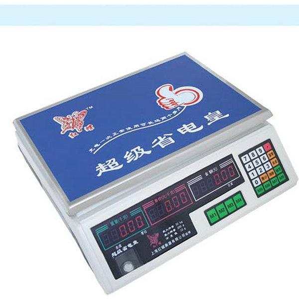 电子计价秤(红蝶24键)