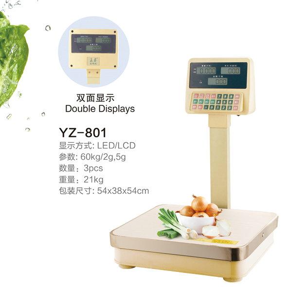 电子台秤(YZ—801)